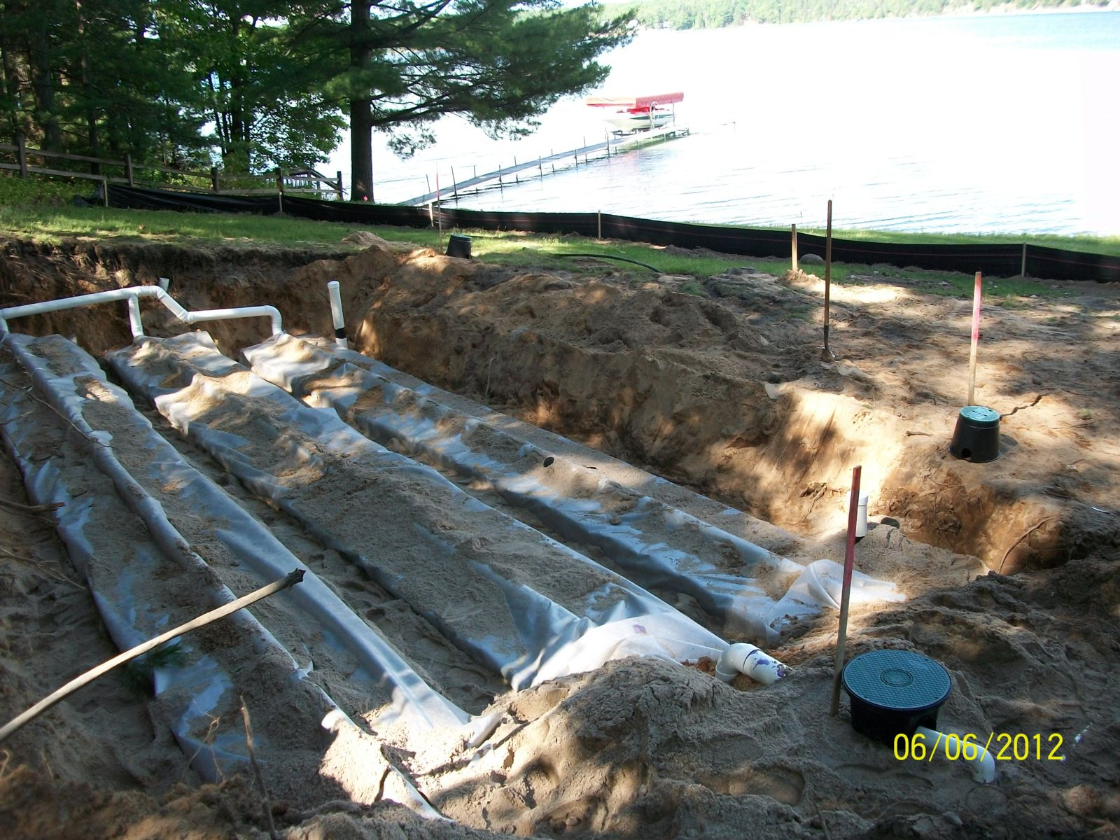 Installation of GSF bed system near Bear Lake, MI.